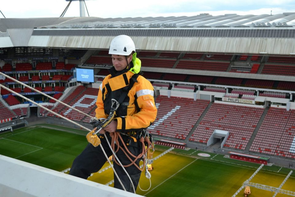Veilig werken in het PSV stadion