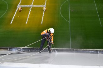 PSV Stadion Rope Acces Eurosafe Solutions