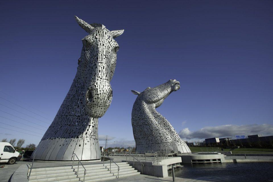 The Kelpies Schotland